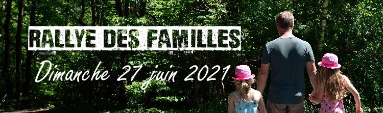 Rallye des Familles  – Dimanche 27 juin 2021